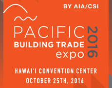 Pacific Building Trade Expo 2016